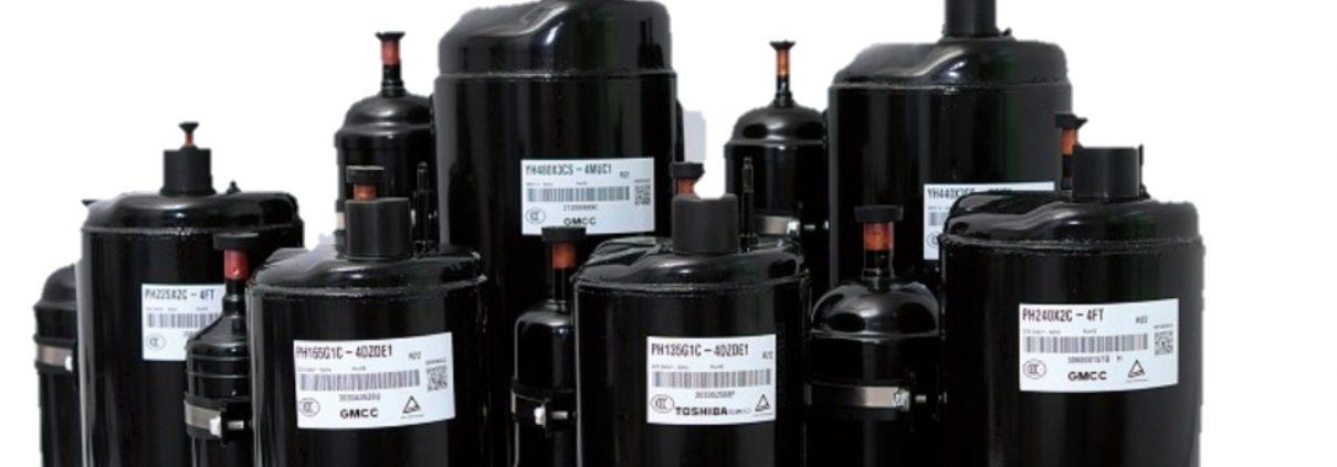 مشخصات کمپرسور GMCC , مشخصات کمپرسور TOSHIBA , موتور کولر گازی GMCC , موتور کولر گازی TOSHIBA